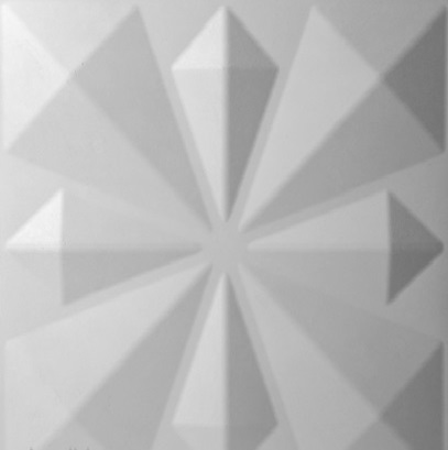 paneles decorativos 3d kites en detalle