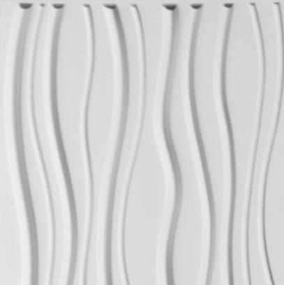 paneles decorativos 3d sands en detalle