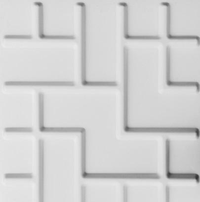 paneles decorativos 3d tetris en detalle