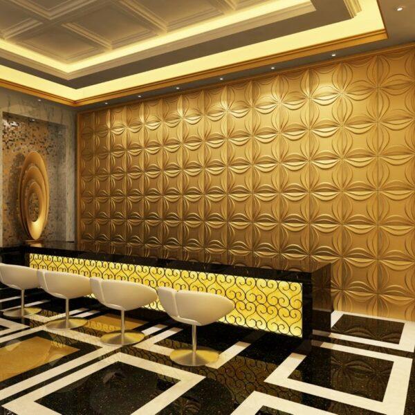 Paneles decorativos 3d lily
