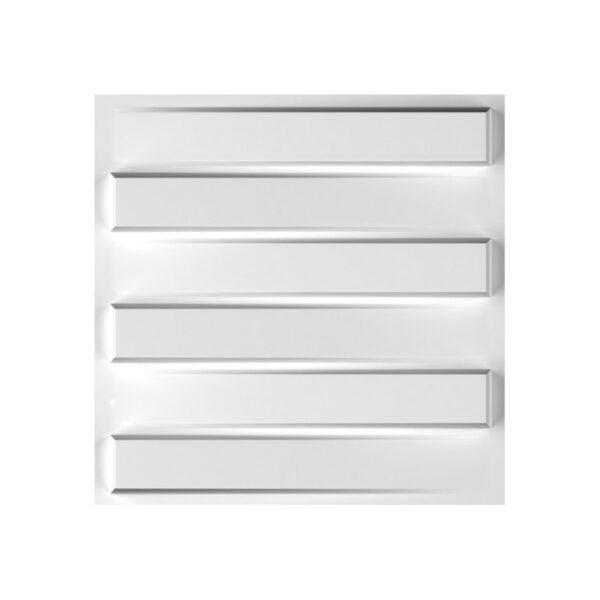 panel decorativo 3d pared bladet