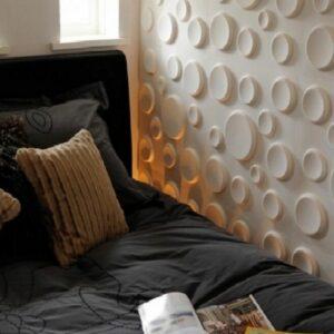 paneles decorativos 3d craters