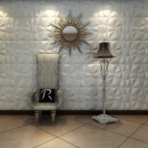 paneles decorativos 3d diamond