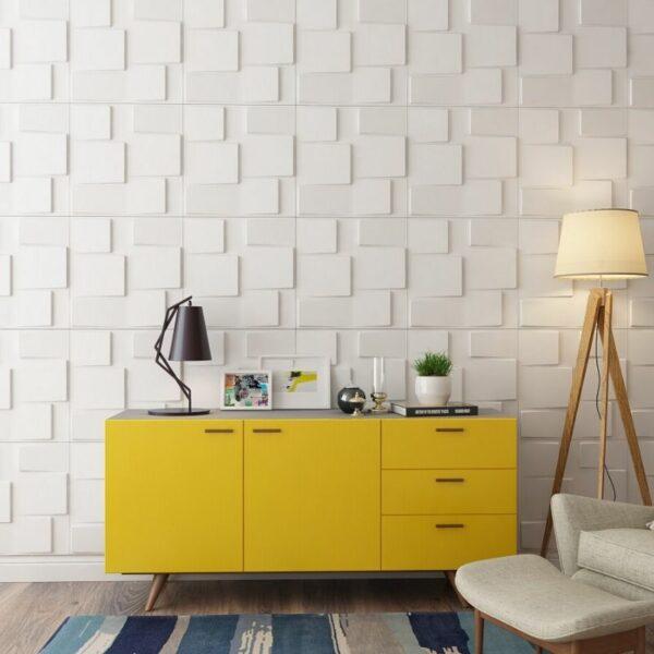 paneles decorativos 3d rubik