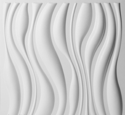 paneles decorativos 3d waves