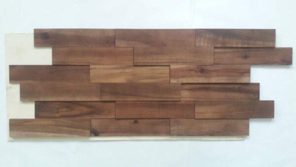 Panel Decorativo Madera Natural 3D Brown Colour