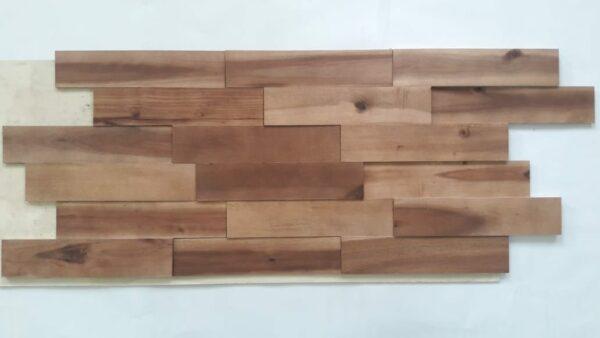 Panel Decorativo Madera Natural 3D Natural Wood